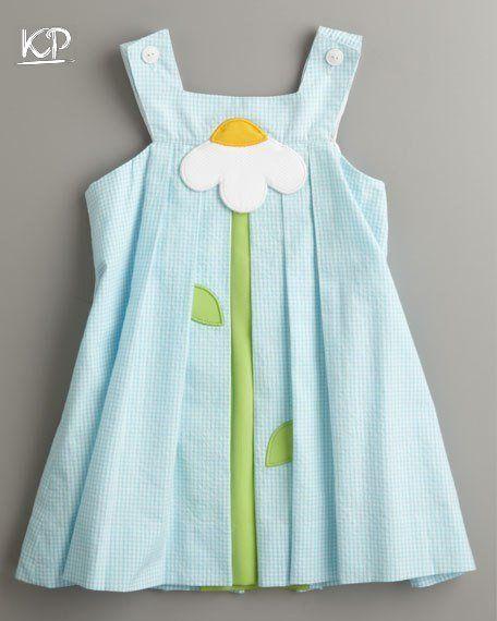 Resultado de imagen para como hacer vestidos para niñas