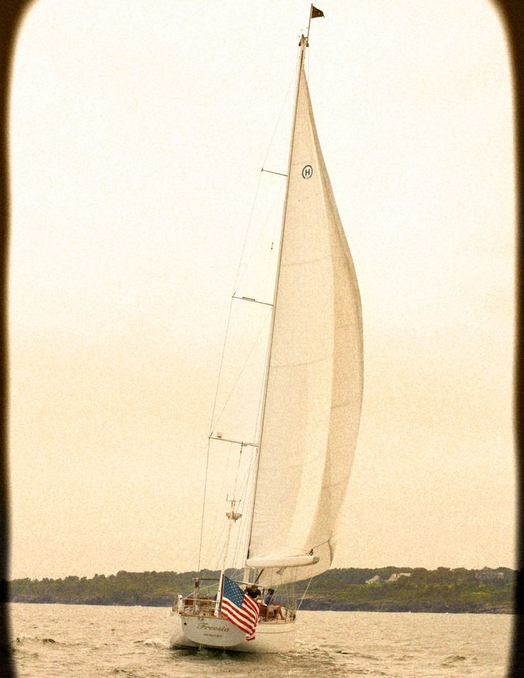 Let's sail away,