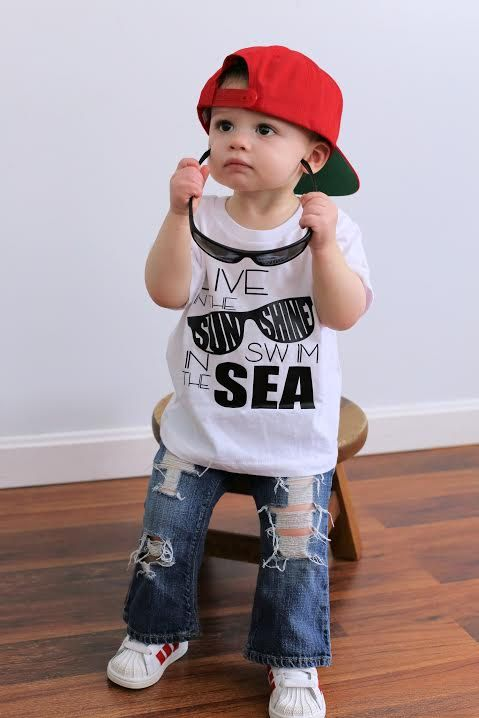Baby boy or girl, you can find the best clothes for newborns, toddlers, and even older! Cute or cool there's an adorable fit for any baby with trendy clothes that won't wear out. Custom clothing .