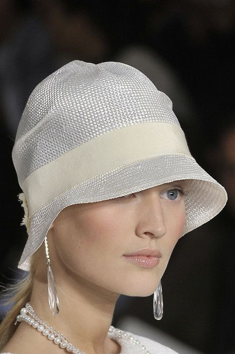 Ralph Lauren, Cloche hat - The Great Gatsby style - 1920's fashion