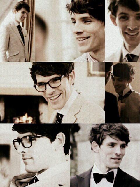 Colin Morgan. I cant handle this pic glasses and cheekbones!!