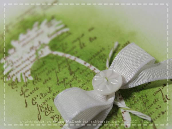 Emboss Resist Stampin' Up! Reason to Smile, French Foliage