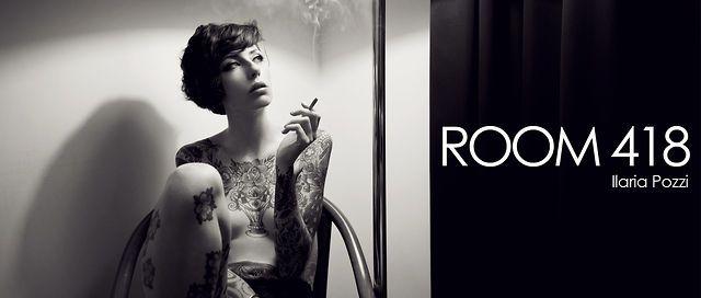 """Room 418"". Room 418 - fashion video by Gabriele Rigon starring model Ilaria Pozzi."