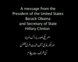 Unreal. Obama Administration Is Running $70,000 Apology Ads in Pakistan (Video)  || This is the sort of thing enemies of this country use against us. They view it as a sign of weakness & a validation of their beliefs, and it strengthens their position against us - in their own minds. They use this validation that they stand on the higher moral ground & our admission of fault and weakness against us.
