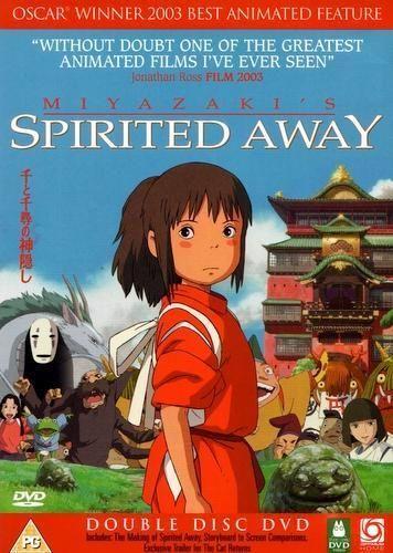 Spirited Away (2 DVD Set / Studio Ghibli 2001)