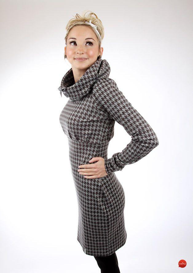 """Minikleider - Letztes Stück Gr. M Kleid """"EBBY_4Hahnentr... - ein Designerstück von meko bei DaWanda"""