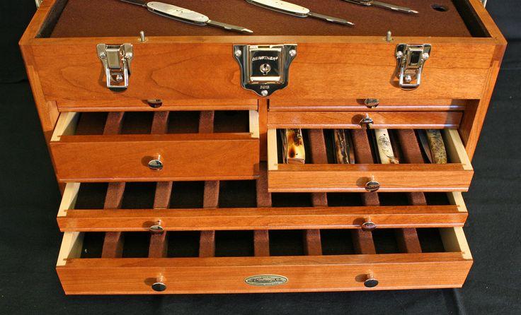 woodraph coffres et boites en bois rangement couteaux id es pour la maison pinterest. Black Bedroom Furniture Sets. Home Design Ideas