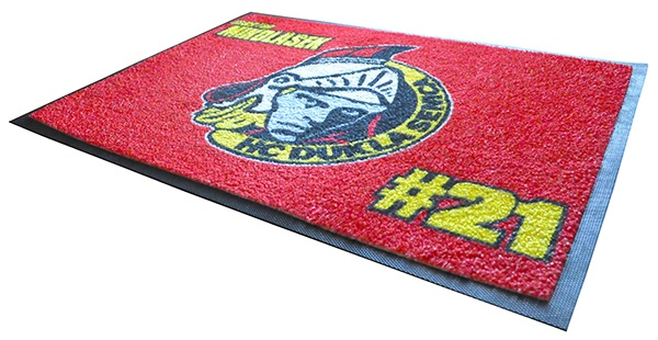 Custom graphic floor mats
