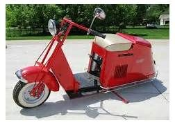 Vintage Motor Scooters | Cushman Motor Scooters for Sale