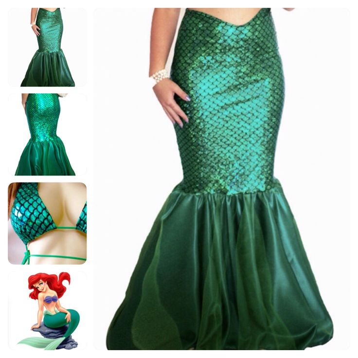 MARIMAR- Mermaid Costume with bikini top, mermaid tail costume, mermaid tail walkable, Traje de disfraz cola de SIRENA  by MTBGBOUTIQUE on Etsy https://www.etsy.com/listing/224676560/marimar-mermaid-costume-with-bikini-top