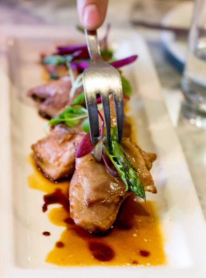 Seared Tuna at Bar Mut - Just one of our favorite Top Modern Restaurants in Barcelona