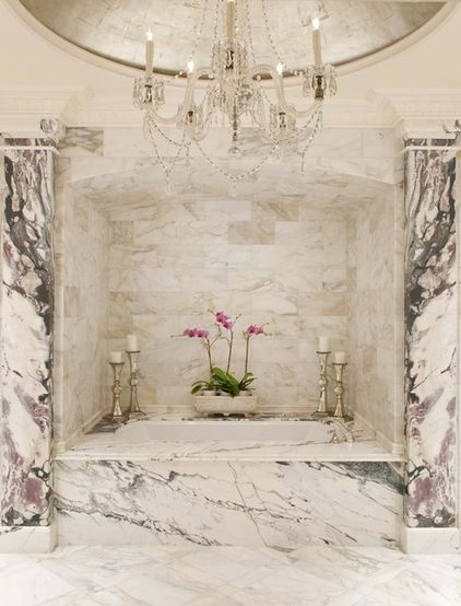 Marble bathrooms. www.alphstoneusa.com