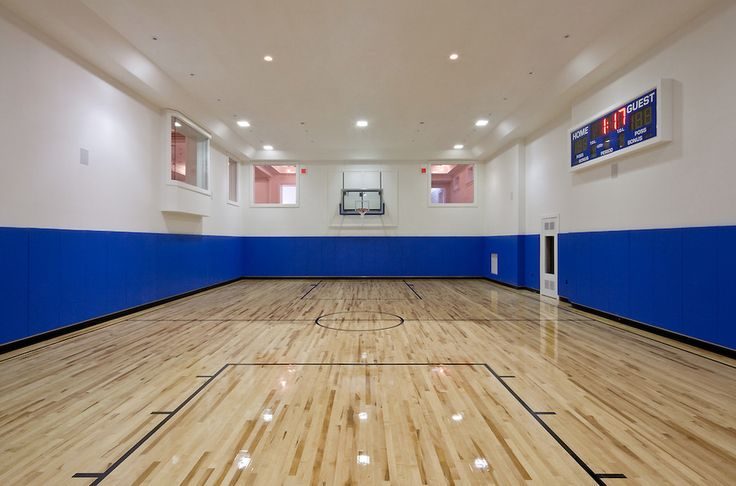 78 best images about indoor basketball courts on pinterest for Indoor home basketball court cost