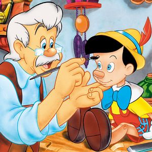 *GEPETTO & PINOCCHIO ~ Pinocchio, released February 7, 1940