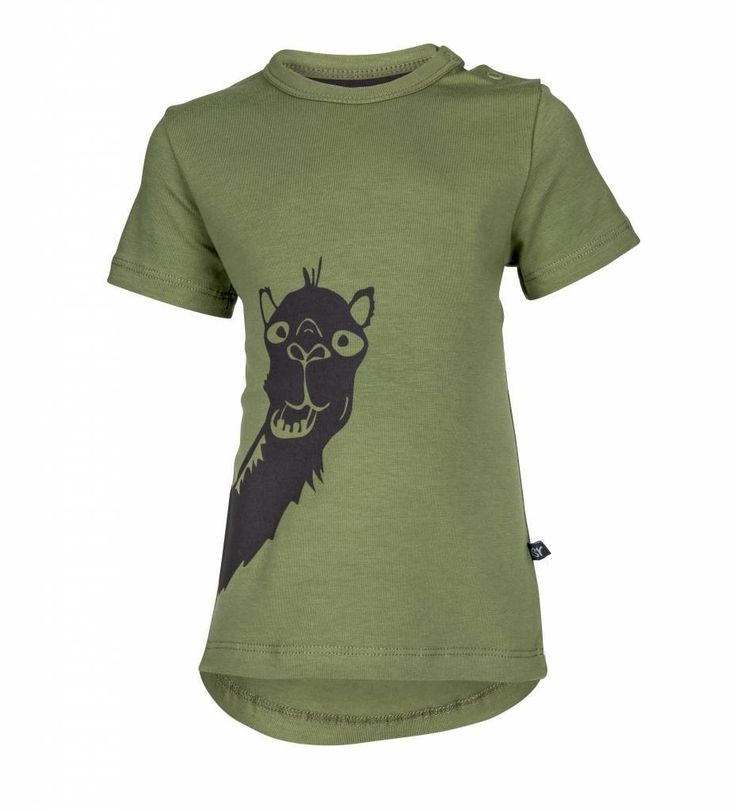 nOeser t-shirt Kyra the camel - DE GELE FLAMINGO - 1