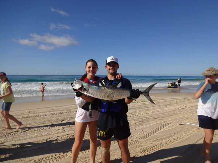 Jono & Caitlin at Fraser Island