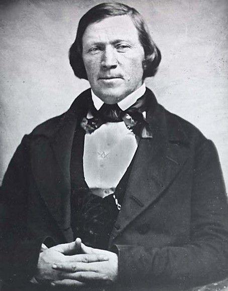 """# Brigham Young, Pastor Mórmon. Líder Teocrático. Discute-se, até hoje, o seu possível envolvimento como Mentor do Massacre da Montanha Meadow (""""The Mountain Meadows massacre"""", 1857. Utah, USA)."""