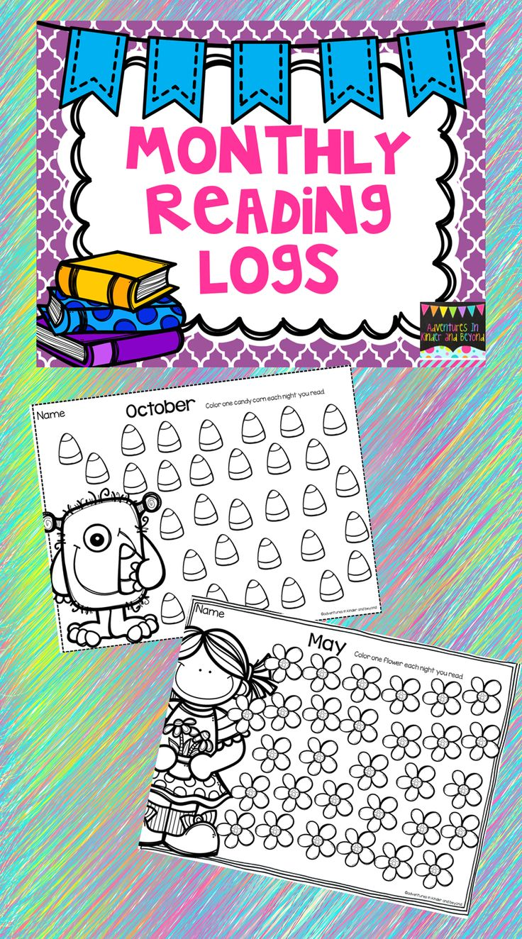 Looking for a way to keep track of your student's reading? These cute monthly…