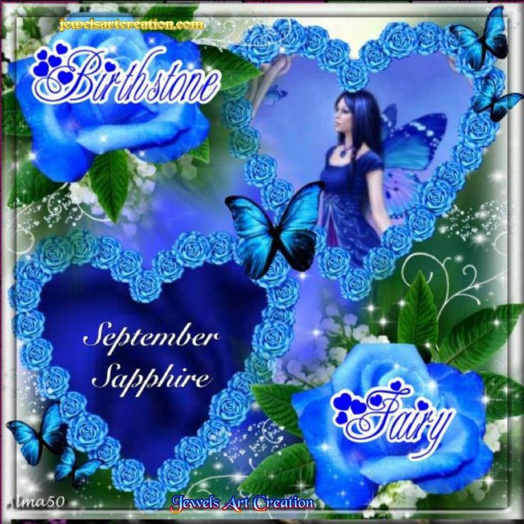 And inspirational september zodiac and birth month jewels art creation