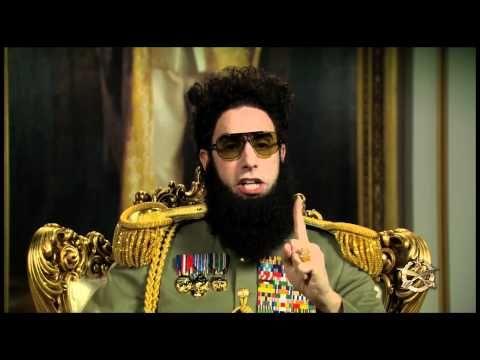 Ce mec est fou !! The Dictator