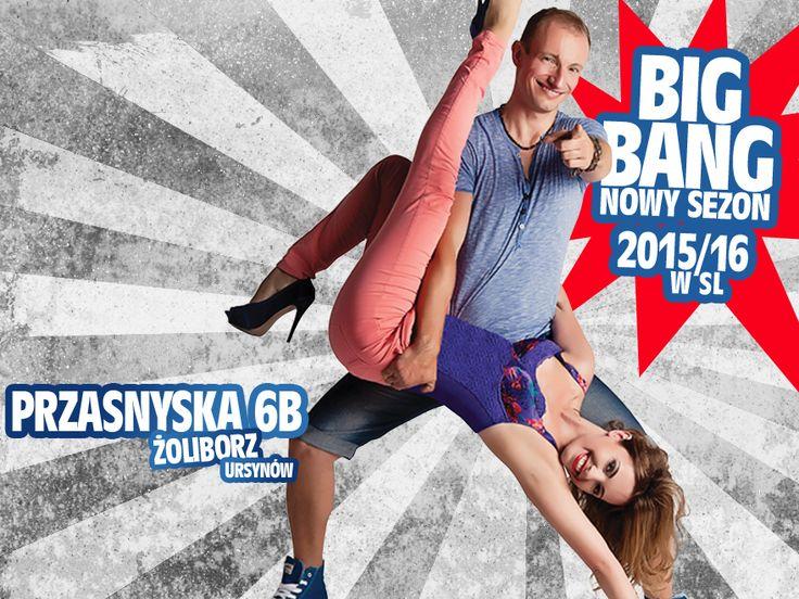 Główny artykół dotyczący nowego sezonu 2015/16 w Salsa Libre! http://www.salsalibre.pl/news/180763/big-bang-nowy-sezon-201516-w-salsa-libre
