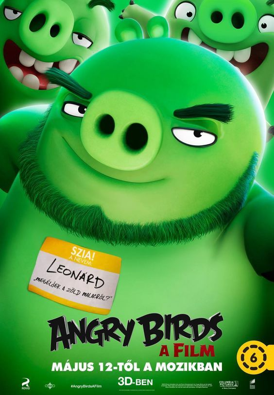 The Angry Birds Movie International Poster 6
