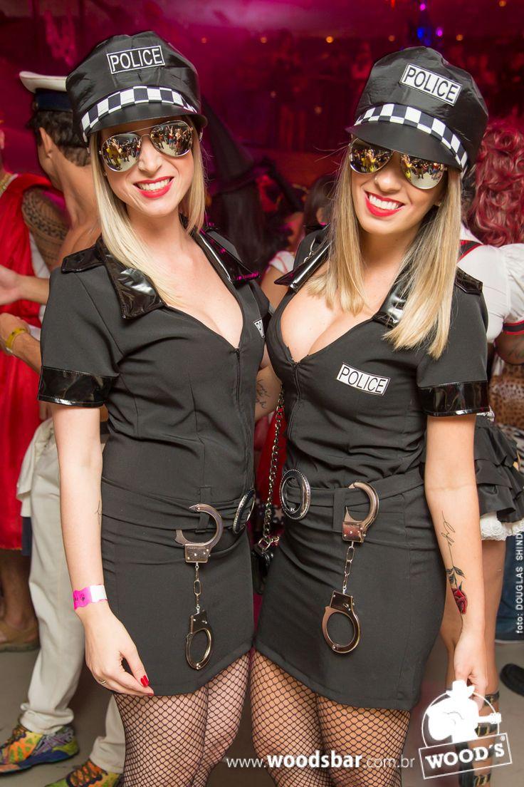 Fantasia de amigas de policial - Wood's SP #fantasia #policial