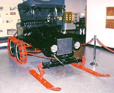 model+t+snow+machine | Ford Model T snow machine conversion information: