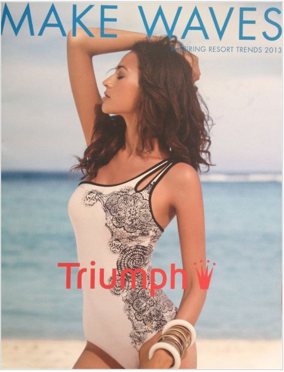 Swimwear design S/S2013 for Triumph International by Alice Schilcher at Coroflot.com