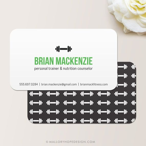 The 25+ best Personal trainer business cards ideas on Pinterest ...
