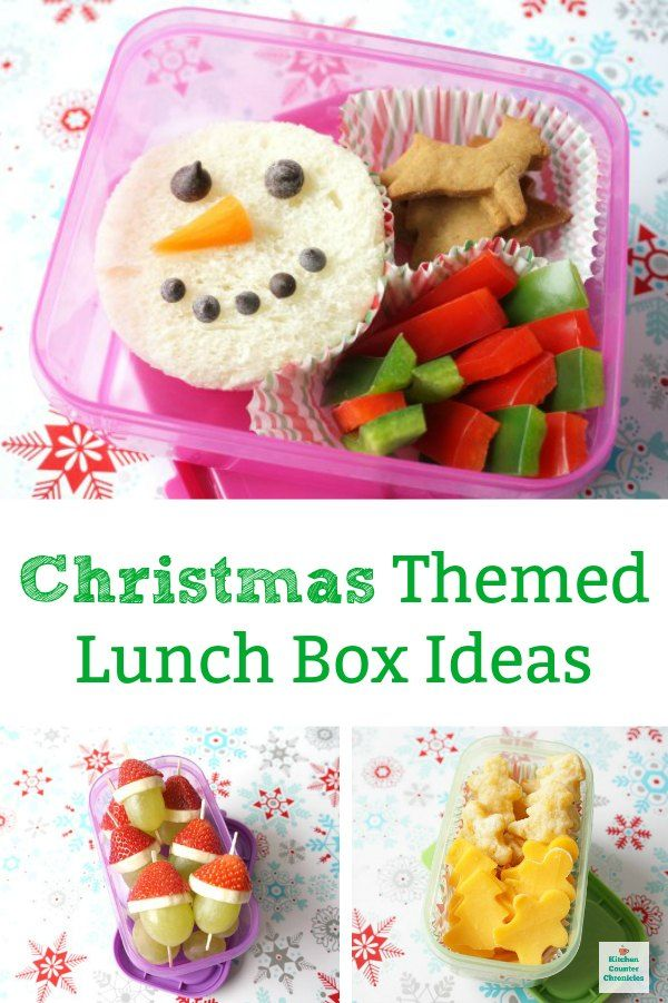 Simple Christmas Themed Lunch Ideas To Make For Kids In 2020 Halloween Lunch Kids Lunch Christmas Food