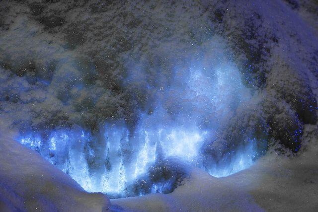 World's biggest icedome in Juuka, Finland