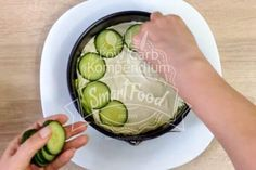 Laag voor laag groeit salade pie