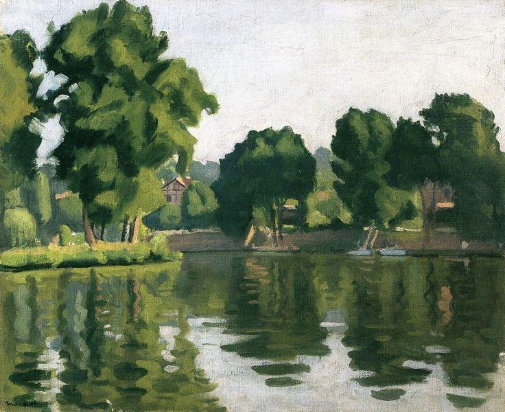 The Seine at Poissy Albert Marquet - 1929
