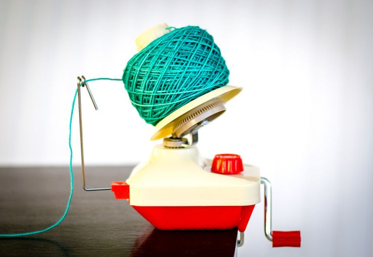 Yarn Ball Winder - Wind your partial hanks and skeins into handy center-pull balls of yarn!