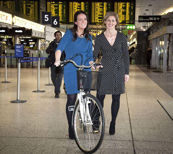 Wellbeing exhibition held in Terminal 1