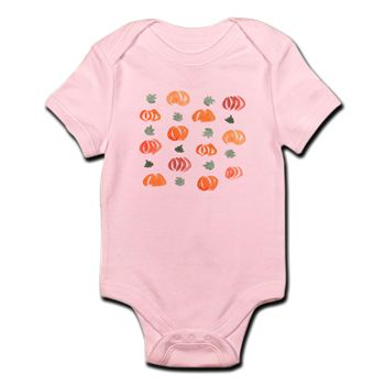 Infant Pumpkin Body Suit
