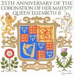 Jeffery Matthews: House of Stuart Coat of Arms