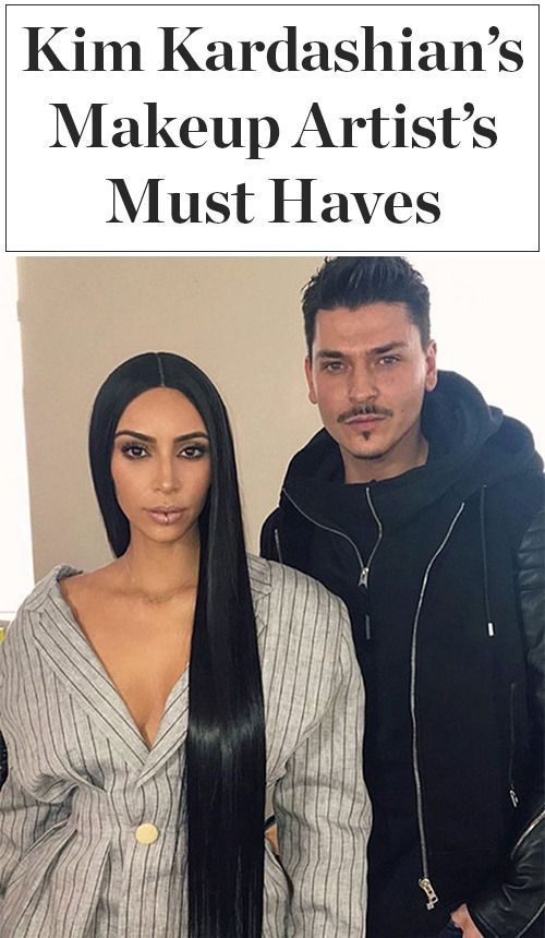 Mario Dedivanovic – Kim Kardashian's longtime makeup artist – shares his favorit…