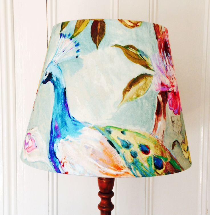 Peacock #lampshade www.sweemei.co.uk