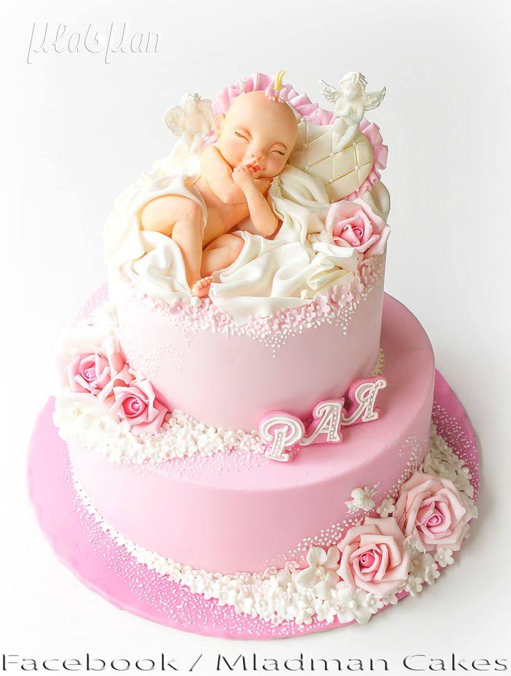 Baby Girl Cakes