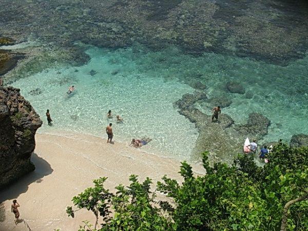 Pantai Suluban di bali