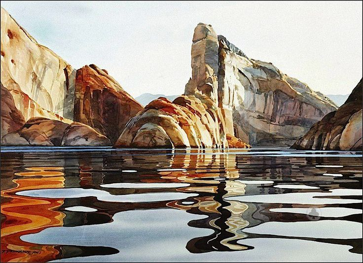 Watercolor painting by David Drummond: