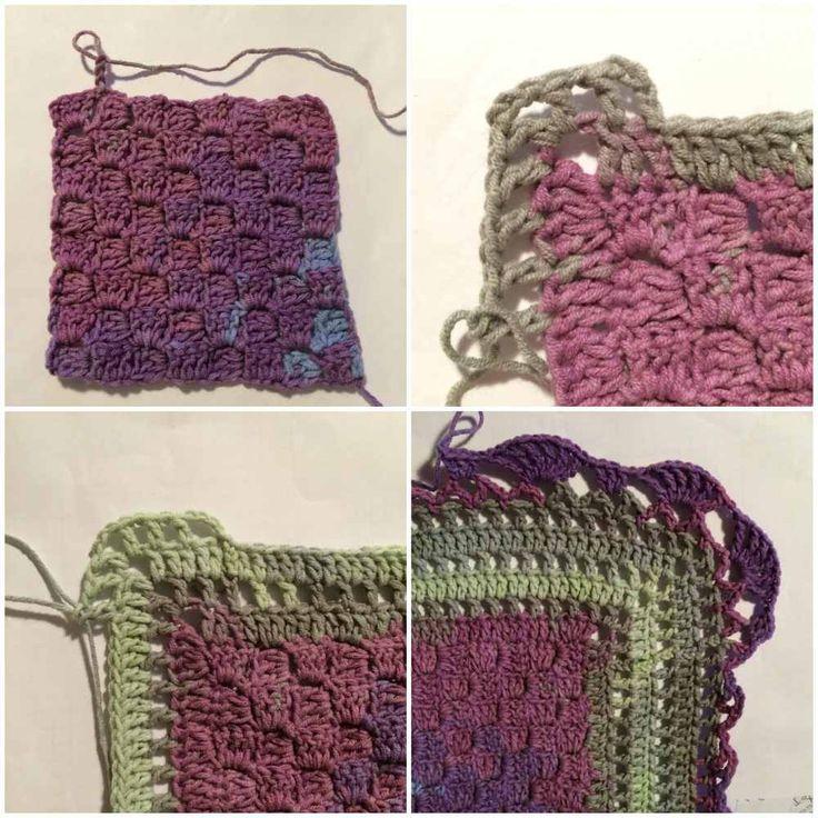 How to crochet blanket with Fabulous Edge