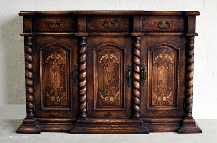 old world hand painted furniture old world dining room