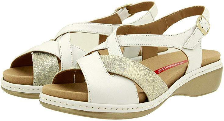 Chaussure Femme Confort En Cuir Piesanto 8812 Sandale