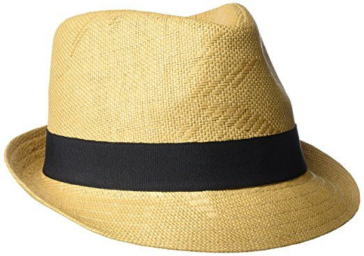 Henschel Men s Straw Fedora With Black Band Review  fa7c38283577