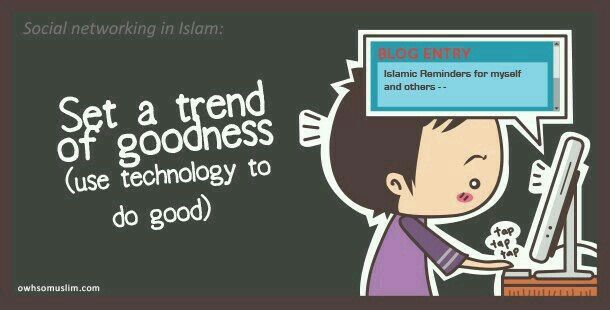 Set a trend of goodness :)