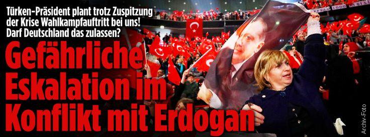 Wut-Welle in der Türkei ++ Empörung über türkische Attacken in Deutschland BILD-Umfrage bei Türken in Deutschland http://www.bild.de/politik/inland/politik/empoerung-ueber-zorn-attacken-aus-der-tuerkei-50700058.bild.html