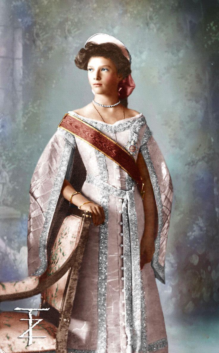Grand Duchess Tatiana of Russia 1913
